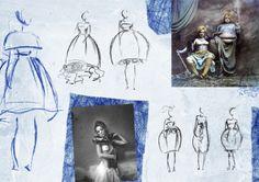 AsiaWysoczyńska | TheTasteOfLife _collection inspired by Jan Saudek works