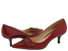 """The """"Thea"""" is a classy looking low heel dress pump from Cole Haan"""