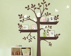 Cherry Blossom Branch With Birds Decal   Simple Shapes Wall Decals,  Furniture, And Accessories | Dorm Room Decor | Pinterest | Simple Shapes,  Wall Decals ...