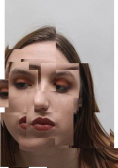 fragmented portrait photography