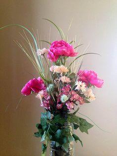 Pink Grasses $50