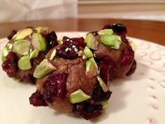 Cranberry Pistachio Cookies! Gluten Free, Vegan, Specific Carb Diet, SCD Friendly & Raw!  glutenfreehappytummy