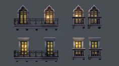 ArtStation - Window Variants , Tobias Koepp