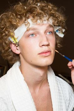 Michael Algeborg - Backstage at Gucci, SS16