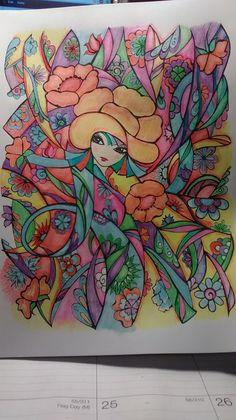 Coloured By Evie Kramer.