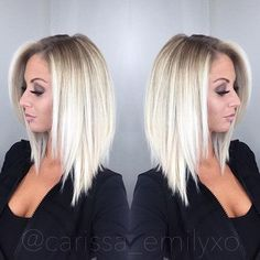 Stylish and Sweet Lob Haircut, Long Bob Hairstyle, Everyday Hairstyles for Women Related posts: 10 Stylish & Sweet Lob Haircut Ideas, Shoulder Length Hairstyles 2019 Idée Coiffure: Description The ultimate … Long Bob Hairstyles, Everyday Hairstyles, Blonde Haircuts, Hair Styles Everyday, Shoulder Length Blonde Hairstyles, Short Highlighted Hairstyles, Styling Shoulder Length Hair, Aline Bob Haircuts, Medium Blonde Hairstyles