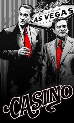 Casino 1995 movie fan-poster art repin