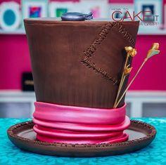 CHOCOLATE MAD HATTER CAKE!