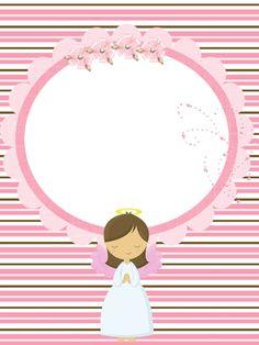 Mi Bautizo Baptism Decorations, Baby Scrapbook, First Communion, Cupcake Toppers, Christening, Ideas Para, Holi, Clip Art, Baby Shower