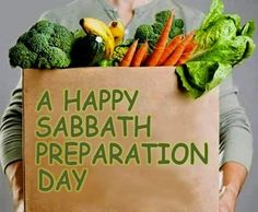 Happy Sabbath brother's and sister's
