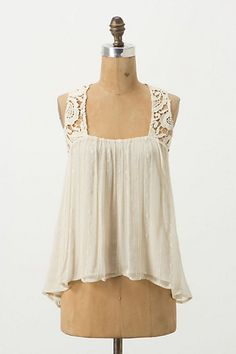 Decadent Layers Shell from Anthropologie - I *love* the back