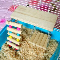Rat platform, swing, ladder