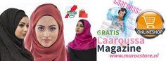 Gratis Laaroussa magazine bij marocstore.nl