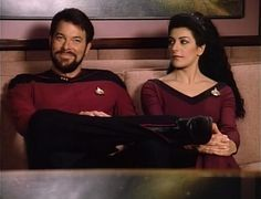 Troi and Riker - Google Search