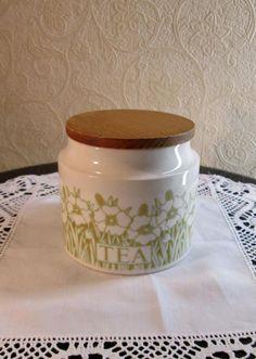 Hornsea Pottery - Fleur Pattern - Medium Tea Storage Jar - 1970s in Pottery, Porcelain & Glass, Pottery, Hornsea | eBay