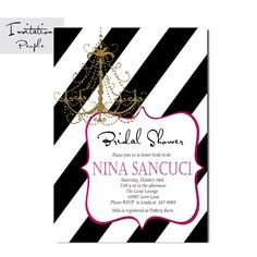 Dreams do come true! If you are shopping our site you are planning and planning a bridal shower, wedding or are now expecting a baby, we offer Sparkles Glitter, Gold Sparkle, Bridal Shower Invitations, Modern Invitations, White Bridal Shower, Black And White Lines, Dreams Do Come True, Expecting Baby, Pottery Barn
