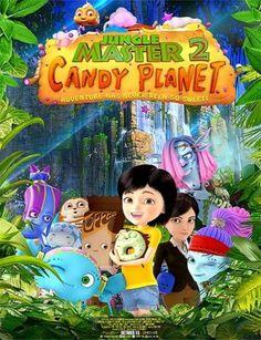مشاهدة فيلم الانميشن الرائع Jungle Master 2 Candy Planet 2016 HD مترجم اون لاين و تحميل مباشر