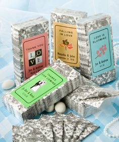 """(Family) """"Personalized Expressions  Collection"""" tissue favors"""