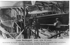 Lokalhistorisk biletsamling i Tysnes: Lunde Baatbyggeri