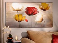 Poppy Profusion Canvas Painting | Kirklands