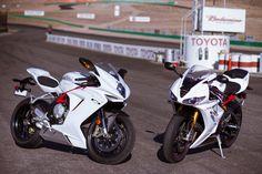 The 675cc Triples: MV Agusta vs Triumph