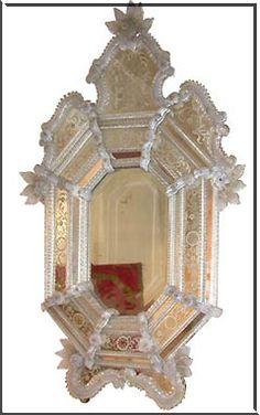 Venetian mirror 1900