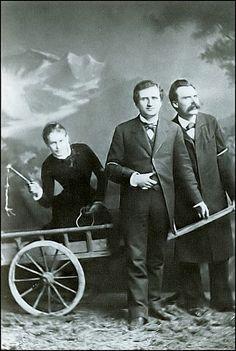queering:Nietzsche, Paul-Ree, Lou-Andreas Salome,1882 via