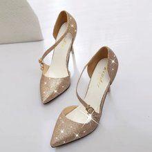 Giày cao gót nữ thời trang, thiết kế hiện đại, nhiều màu sắc