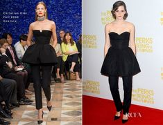 Image result for emma watson pants dress