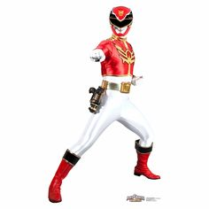 Power Rangers Megaforce Red Ranger Standup