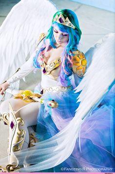 Resultado de imagem para princess celestia cosplay