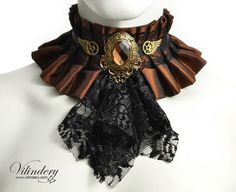 Hey, I found this really awesome Etsy listing at https://www.etsy.com/au/listing/209591805/steampunk-choker-with-brown-glass