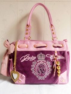 Juicy Couture Mulberry/Pink Handbags JCH120