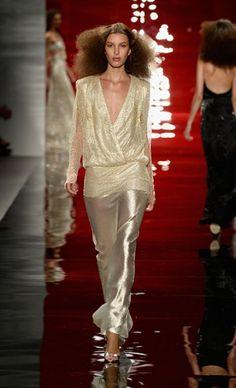 REEM ACRA #Runway #SS14 New York Fashion week #NYFW