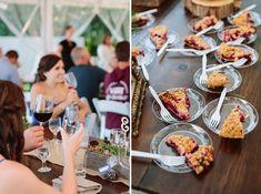 Wedding Pies by Grand Traverse Pie Co at a Leelanau County Wedding City Photography, Photography And Videography, Wedding Photography, Wedding Pies, Pie Co, Traverse City, Wedding Photos, Marriage Pictures, Cake Wedding