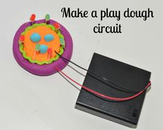 How to make an easy play dough circuit Science Ideas, Science Lessons, School Tool, Play Dough, Led Candles, Circuit, Homeschool, Kit, Tools