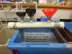 "A new version of a 'Large Plastic Tube with Funnels' from Tom Bedard ("",)"