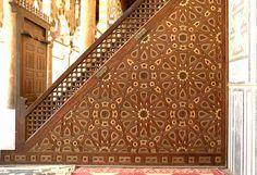 Cairo, Egypt - Minbar of sultan Al Nasir Mohammed