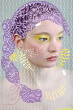 photography mixed with illustration                              …