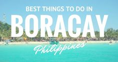 One of the most beautiful beaches you can find in the Philippines is the island of Boracay. Both local and foreign tourists love the powdery white sand of the beach along with the breathtaking views of the coastline. In addition, this tropical paradise is one of Asia's highly visited travel destinations because