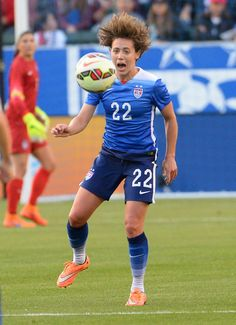 Meghan Klingenberg vs. Mexico, May 17, 2015. (Jayne Kamin-Oncea/USA Today Sports)