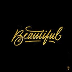 Typeverything.com Beautiful by Melvin...
