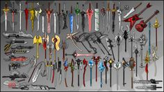 Fantasy Swords   Weapon Collection by matt-likes-swords on Newgrounds