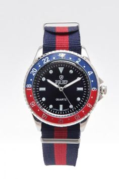 Prep Two Color Dial Watch 2.0mm Band