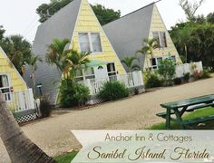 Anchor Inn & Cottages, Sanibel Island, Florida. One of the most beautiful places ever. I love this island. #travel #Sanibel