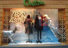 """ARITZIA,Vancouver,Canada, """"Captain Santa Claus and his Reindeer Space Control"""", pinned by Ton van der Veer"""