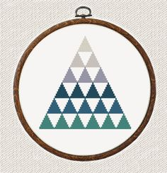 Mountains Cross Stitch pattern modern от AnimalsCrossStitch