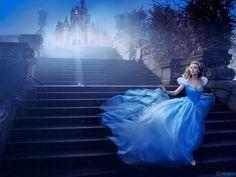 Annie Leibovitz photography, the disney photoshoot, with Scarlett Johansson.
