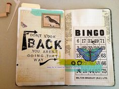 Don't Look Back by strawberryredhead, via Flickr - I like the font used on 'BACK'