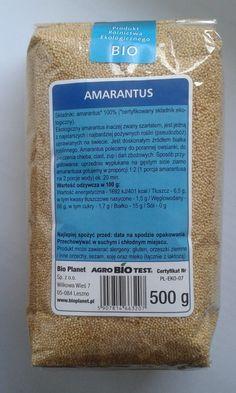 Amarantus - efekt bio zakupów. Cudowne właściwości amarantusa i kilka pomysłów na jego zastosowanie.